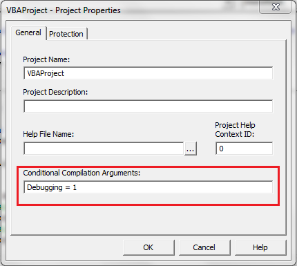 VBA Conditional Argument